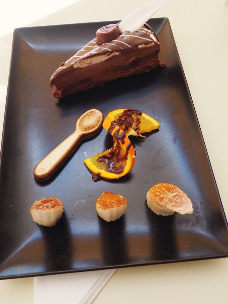 Dessert at PR Ammos Skiathos Palace