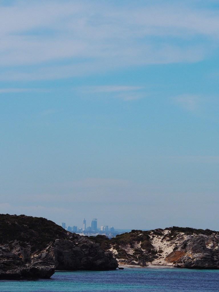 Perth CBD in the distance