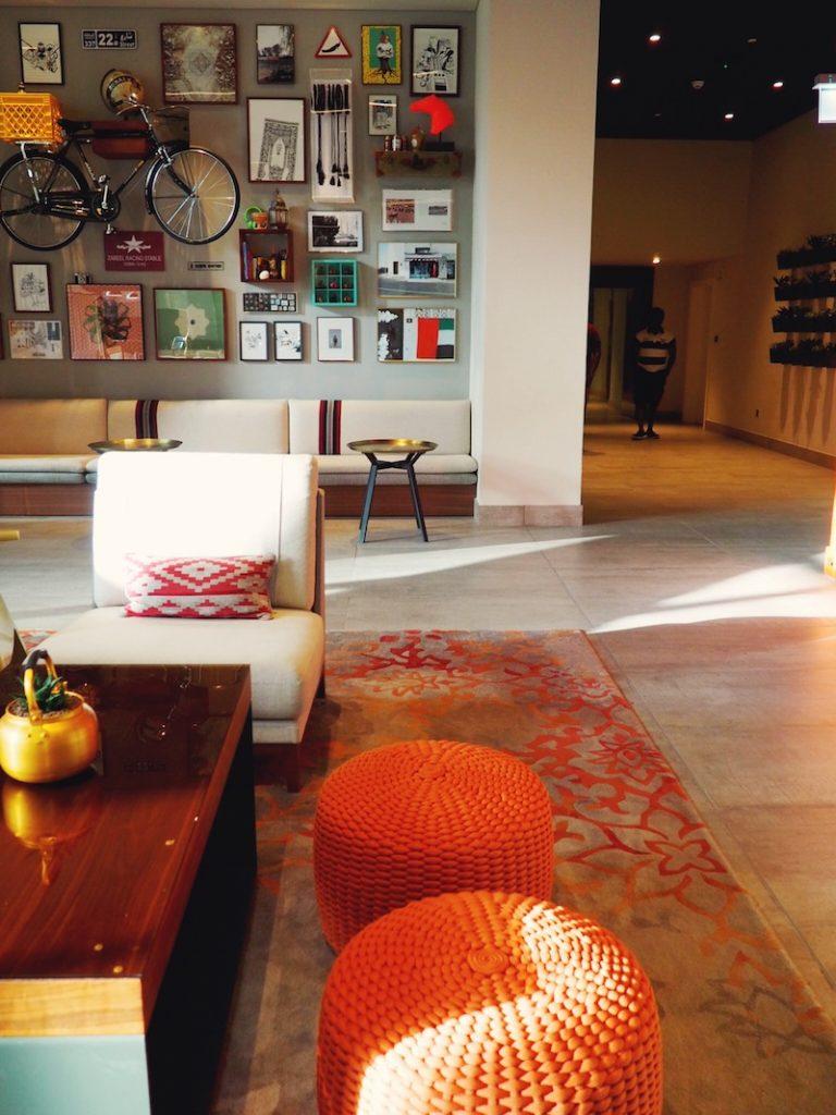 Lounge at Rove Downtown Dubai