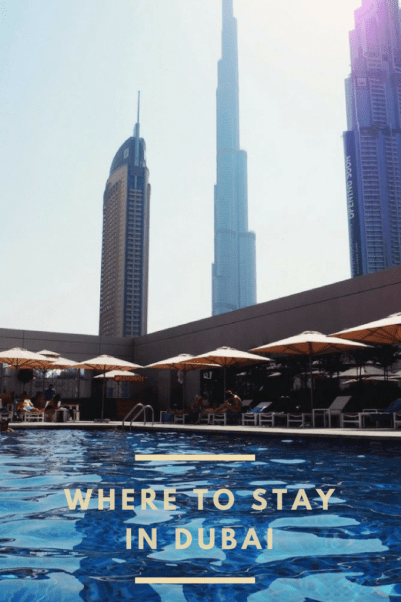 Best place to stay in Dubai