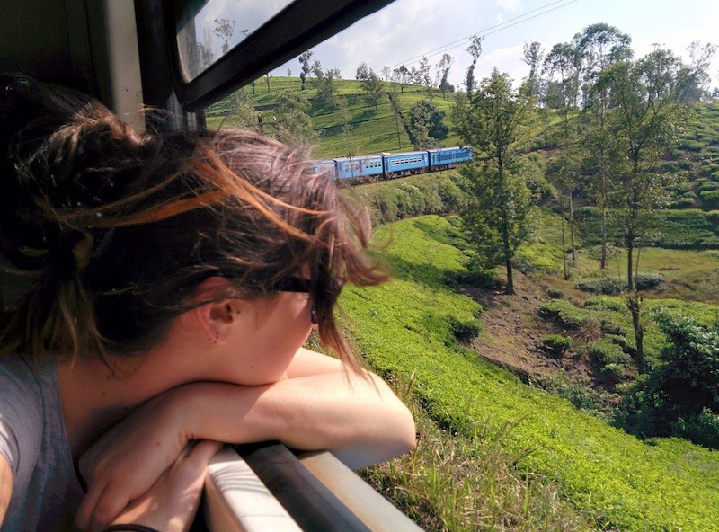 Riding the rails in Sri Lanka