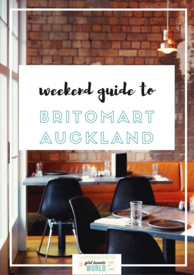 weekend guide to britomart auckland