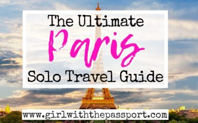 Solo Travel Paris: 12 Things to do Alone in Paris