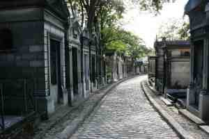 Père Lachaise Cemetery is one of the most famous and most beautiful cemeteries in all of Paris.