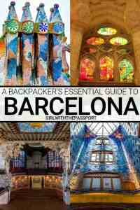 Backpacking Barcelona and looking for some Barcelona, Spain things to do that won't break the bank? Then check out this guide to Backpacking in Barcelona. Not only will you get \\secret budget Barcelona travel tips, but you'll also discover the best Barcelona backpackers hostels, and learn about some of the best cheap eats in Barcelona. #Barcelonatravel #Barcelonaguide #Budgettravel #Backpackers #BarcelonaTravelTips