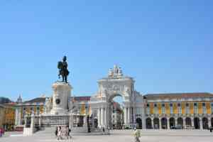 Praça do Comércio really is one of the most beautiful places in all of Lisbon.