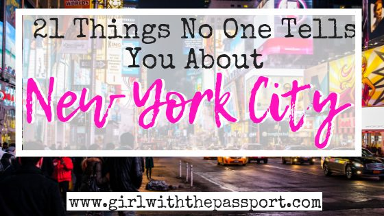 New York City Travel Tips: 21 New York City Mistakes to Avoid