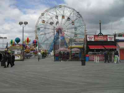 Coney Island is only one of the amazing places you'll see when you step outside Manhattan.