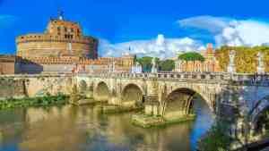 Castel Sant'angelo in Rome.