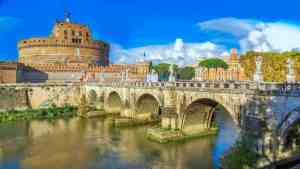 Castel Sant'angelo in Rome.
