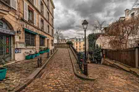 The quaint and enduring charm of the streets of Paris.