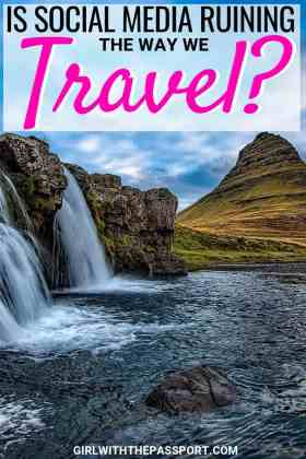 in recent years, social media and social media marketing have had a huge impact on how and why we travel. It seems as though people are consumed with travel for social media and forget to the enjoy the moment. But can social media and travel coexist or is this just a recipe for disaster? Find out now! #wanderlust #travel #socialmedia