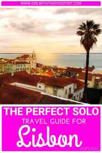 Traveling Lisbon alone and looking for some fun and unique ways to enjoy the city as a solo traveler? Then check out my guide on the 15 best things to do in Lisbon, as well as some fantastic local spots for Lisbon Portugal food while you're on your own! #solotravel #Lisbon #Portugal #thingstodo #travel #europe