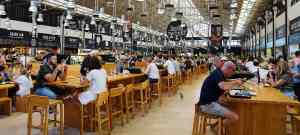 The Time Out Market is a great place to try a diversity of cuisine in Lisbon.