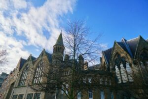 Some of the historic beauty you'll find in the many buildings around Edinburgh and the University of Edinburgh.