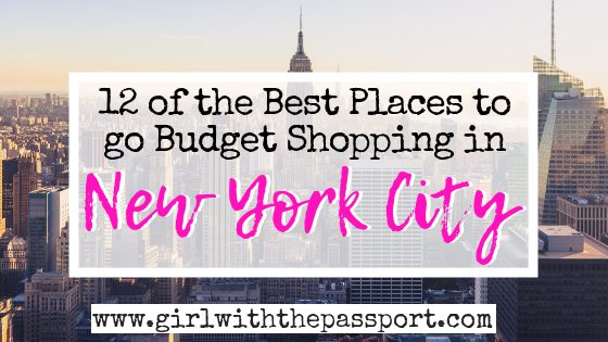 12 of the Best Places to Shop in NYC on a Budget
