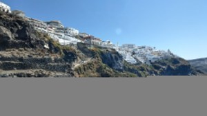 Some of the amazing views you'll see during the hike from Fira to Oia.