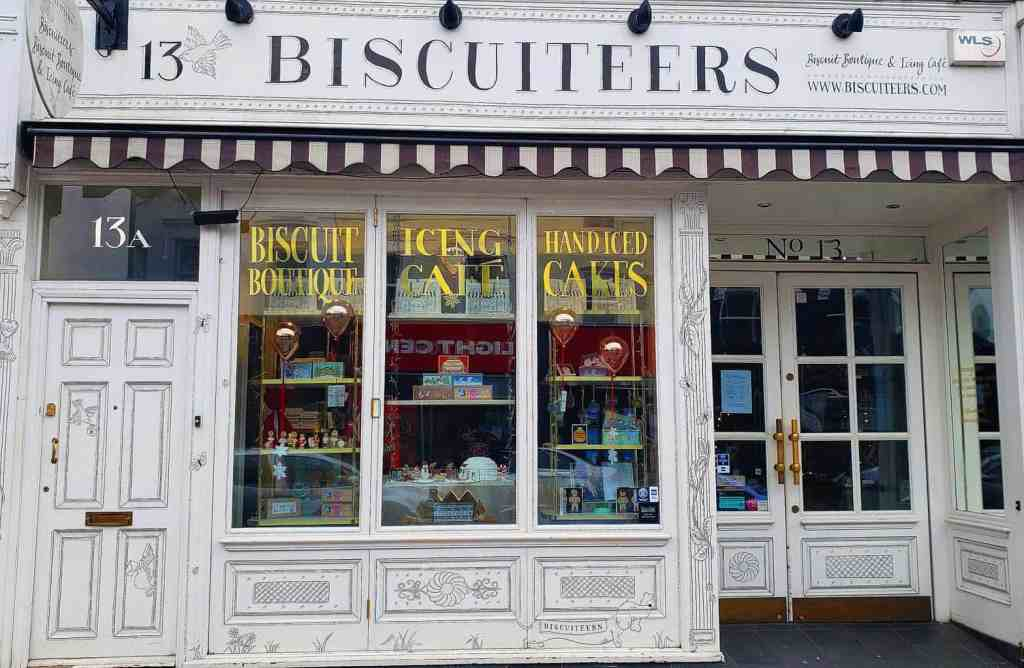 The insane adorableness that is Biscuiteers, one of the most unusual things to do in London.