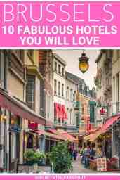 Wondering where to stay in Brussels? Then check out this guide to 10 of the best places to stay in Brussels. Filled with recommendations for the best hotels, and hostels in Brussels, this list is perfect for travelers in Brussels who are on any type of budget. #Brusselstravel #Brusselstips #Brusselshotels #Brusselshostels #BrusselsBelgium