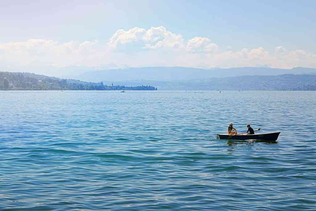 Lake Zurich is just one of the many amazing Zurich tourist attractions.