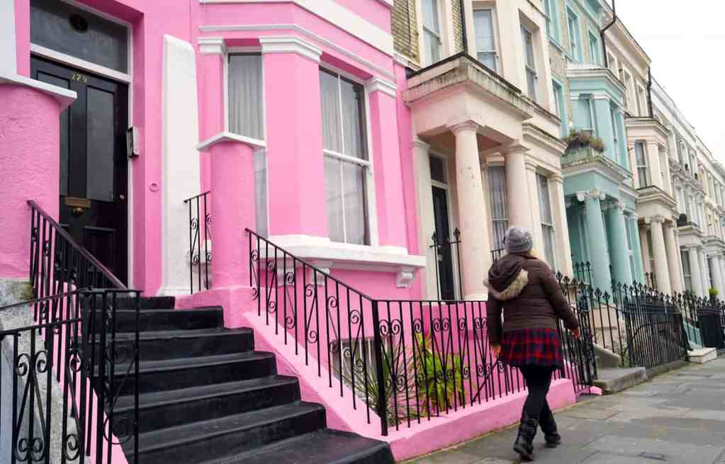 Get out of central London and explore some of London's many charming neighborhoods, like Notting Hill.