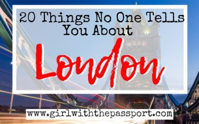 Traveling to London for the First Time: 20 Mistakes You MUST Avoid