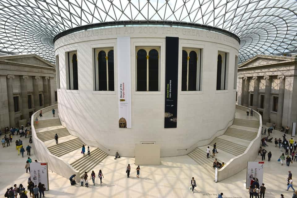 The British Museum is one of the great free things to do in London, and is a top London Instagram spot too!