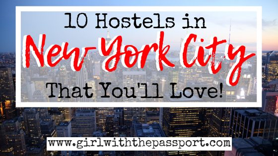 10 of the Best Hostels in NYC
