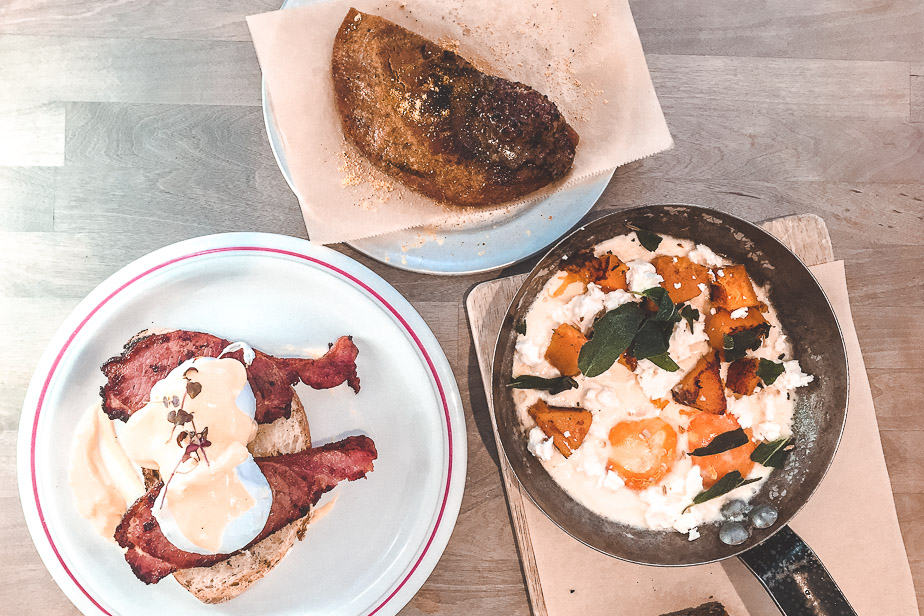 Breakfast for two at MILK in Balham.