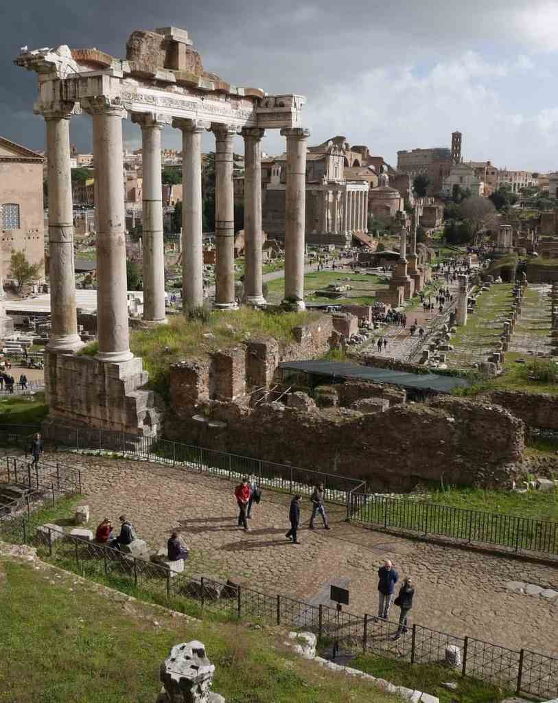 Be prepared for some amazing views from the top of Palatine Hill.