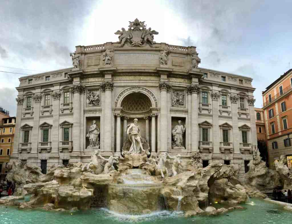 If it's your first time in Rome, definitely make time to see the Trevi Fountain.