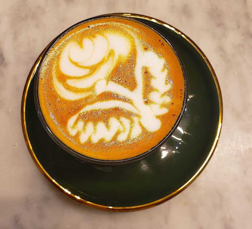 One of the many fun things to do In Shoreditch is to grab a latte from Shoreditch Grind.