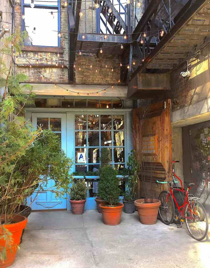 The quaint charm of Freeman's Restaurant, near Chinatown.