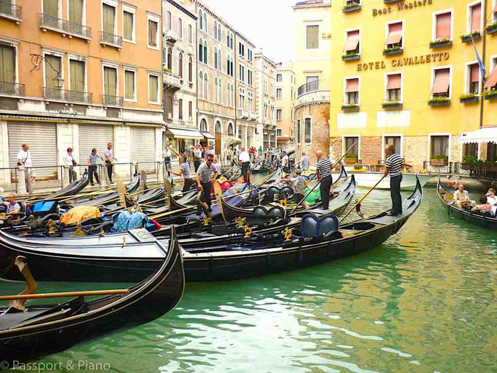 Experience the wonder and awe of Venice's many canals.