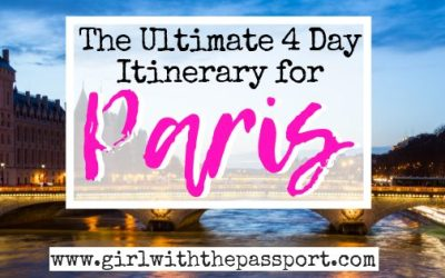 4 Days Paris Itinerary