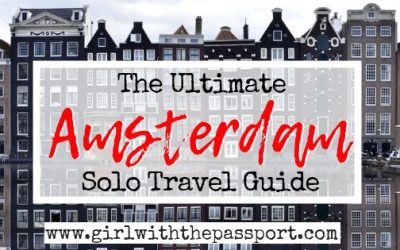 Solo Travel Amsterdam: 14 Amazing Activities!