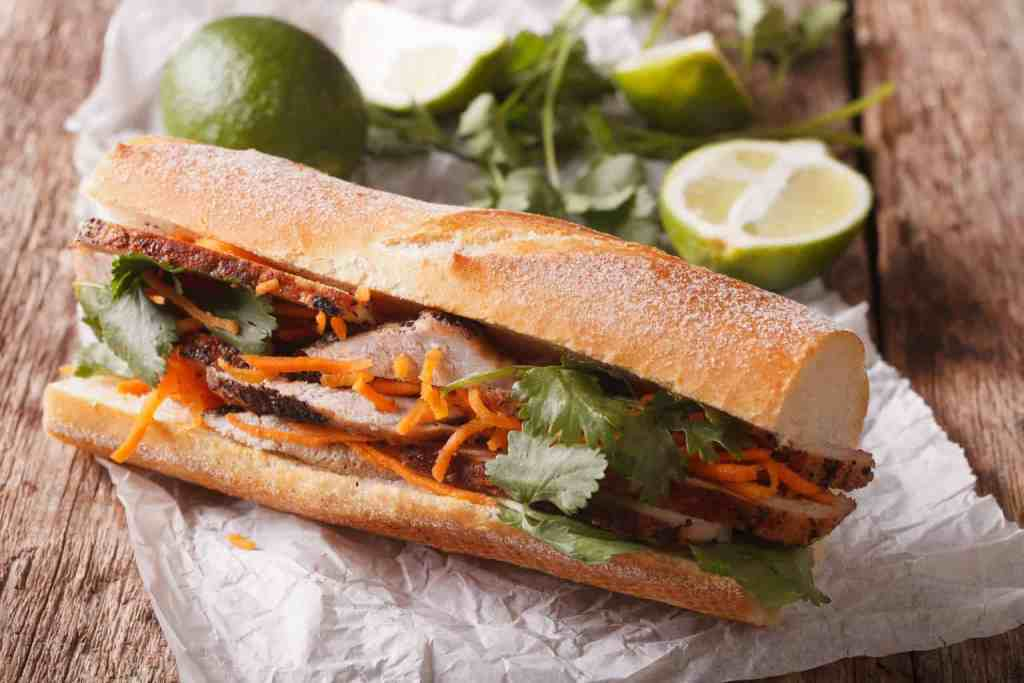 Yeah Banh Mi Pork sandwiches are just a way fo life in Vietnam.