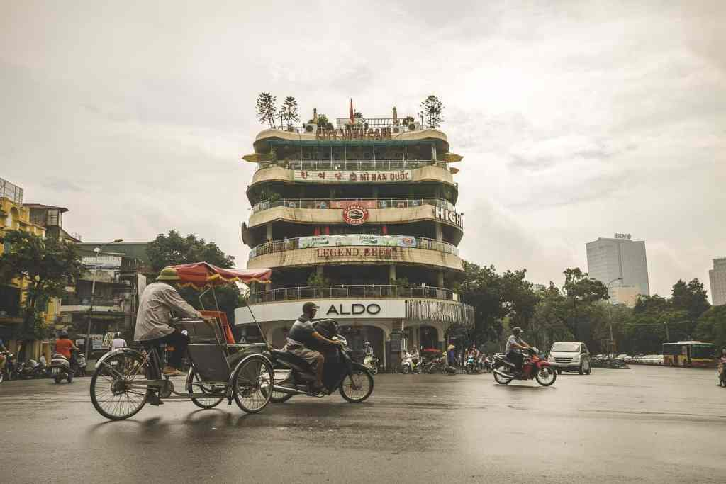 In Hanoi, the chaos in the streets never really stops.
