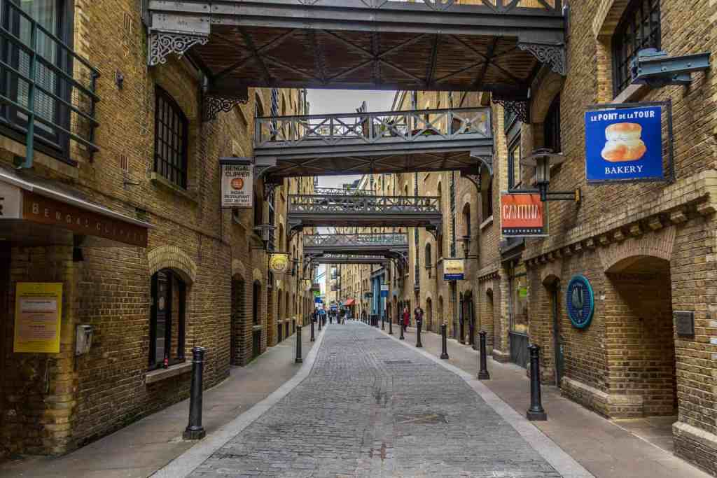 The historic beauty of Shad Thames.