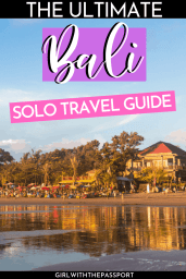 Planning some Bali solo travel and have no idea where to go or what to do? Concerned about safety? Then read on. You'll learn how to stay safe and discover all of the amazing things that you can do in Bali by yourself. From Hindu temples to scenic rice fields, to exotic beaches, Bali has a ton of amazing attractions that are even more fun as a solo traveler. #VisitBali #BaliGuide #SoloTravel #BaliTravel