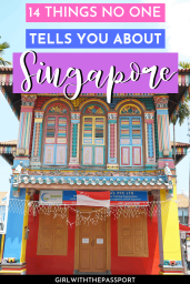 Traveling to Singapore for the first time and have no idea what to expect? Then check out this post! It's filled with 14 secret, insider tricks and tips that will help you see Singapore like a local. Trust me, this post details all the various things to know when traveling to Singapore, things guide books might not mention. #SingaporeTravel #SingaporeGuide #SingaporeTrip #SingaporeTips