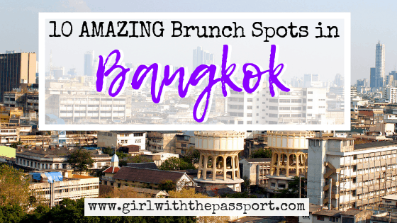 10 Best Places for Brunch in Bangkok