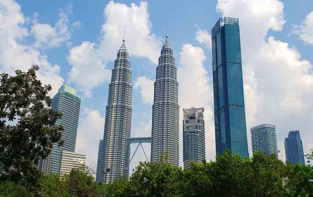 The modern, architectural beauty of the Petronas Towers is one of the many amazing places to visit in KL (Kuala Lumpur).