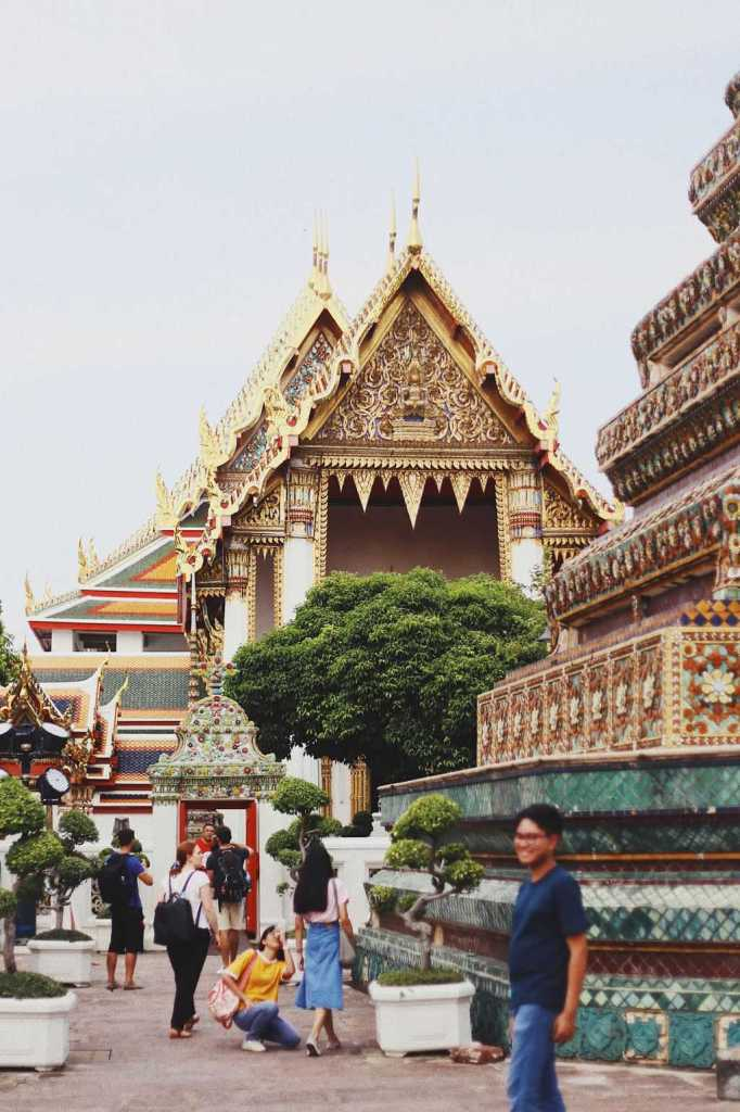 A slightly random picture of Wat Pho because no way am I showing you a picture of a toilet.