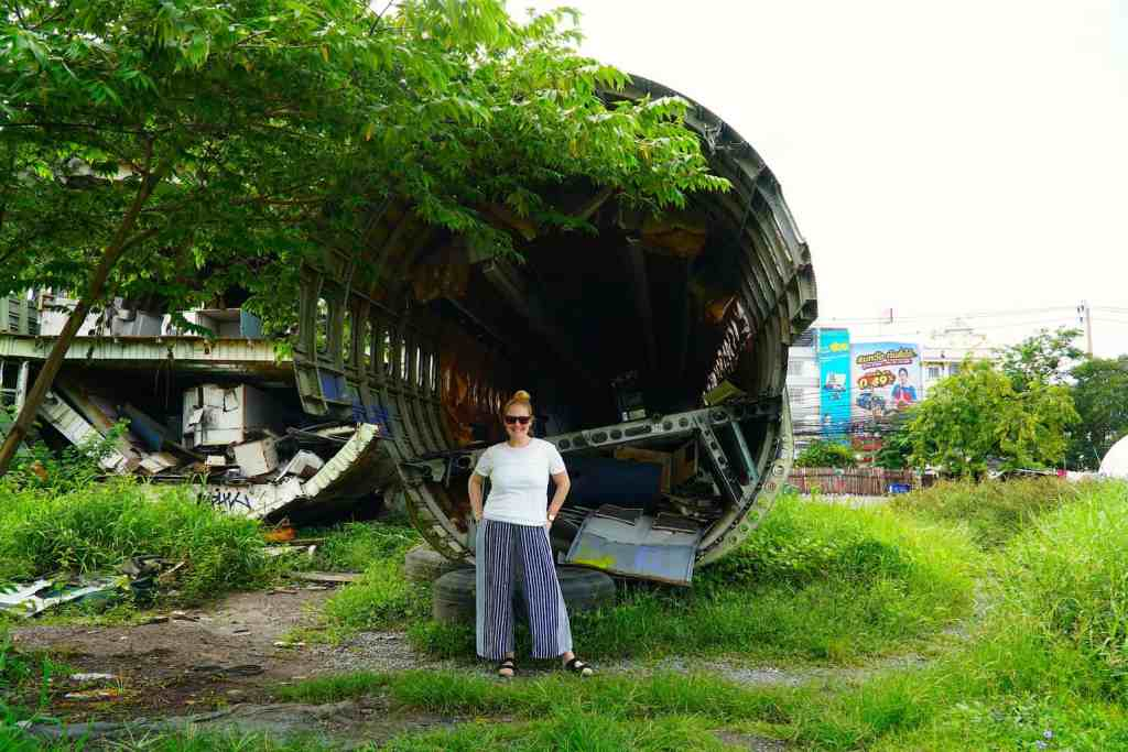 The cool and haunting beauty of the one and only airplane graveyard in Bangkok.