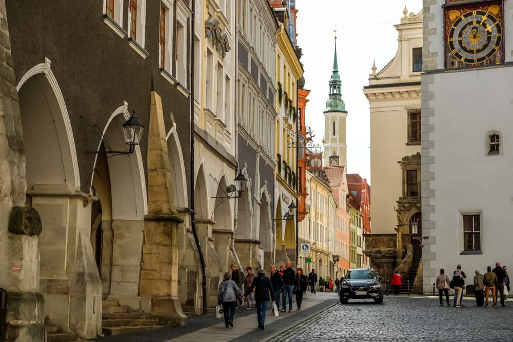 The quiet, historic charm of Goerlitz, Germany.