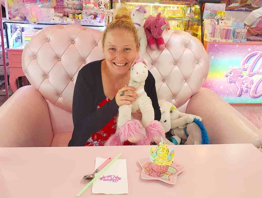Feel like a kid again at the Unicorn Cafe in Bangkok, one of the many cool things to do in Bangkok.