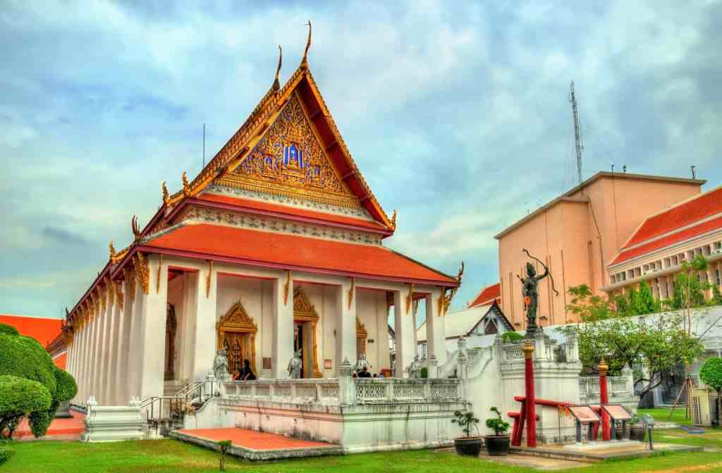 The architectural beauty of Bangkok's National Museum.