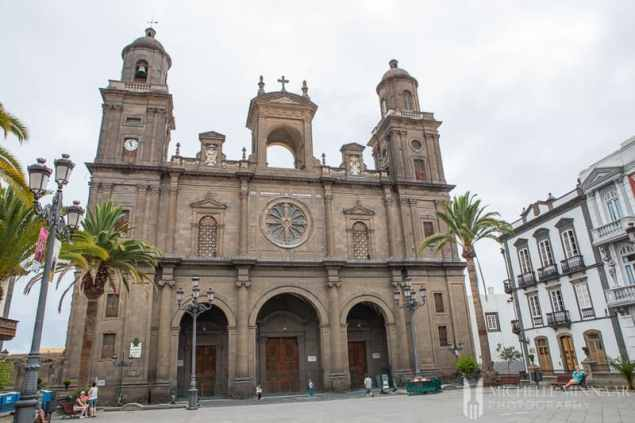 Some of the historic beauty that you'll find on the island of Gran Canaria in Spain's Canary Islands.