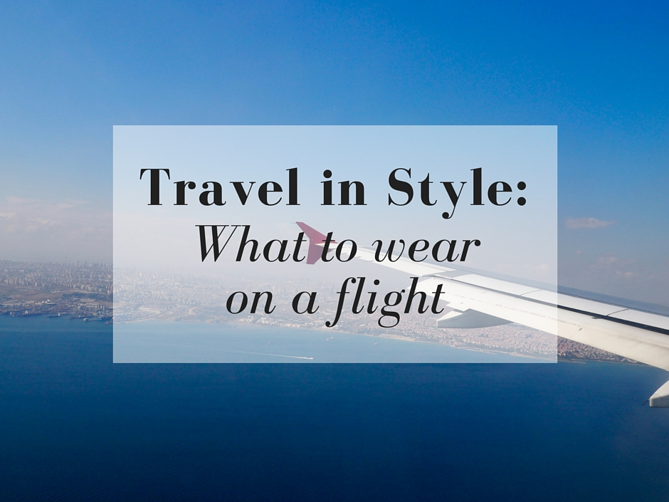 wear plane travel